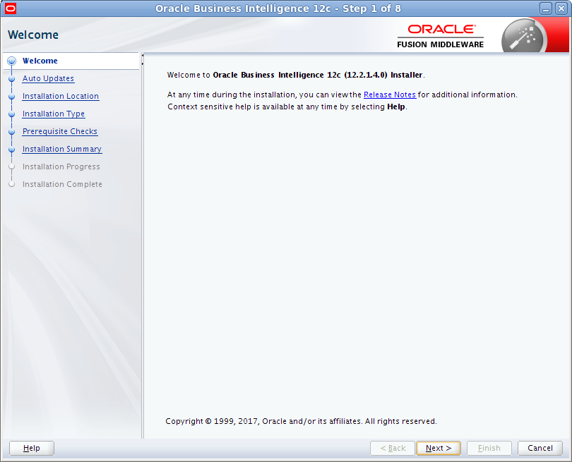 Oracle BI Publisher Install fails INST-07548 - Oracle